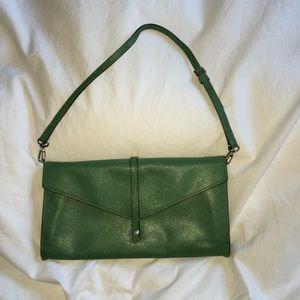 Lodis Green Clutch